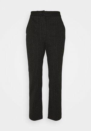 PRIMATO - Trousers - black pattern