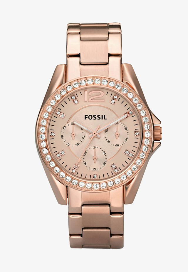 RILEY - Uhr - rosegold-coloured