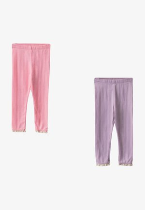 2 PIECES  - Leggings - Trousers - pink