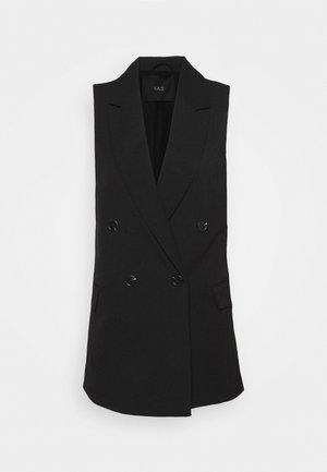 YASELENA WAISTCOAT - Waistcoat - black