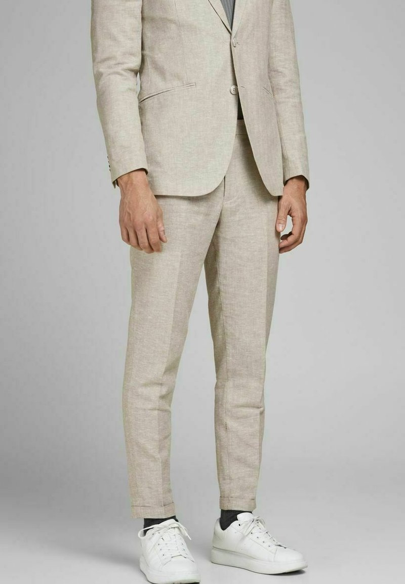 Jack & Jones PREMIUM - JPRRAY SID  - Pantalón de traje - beige