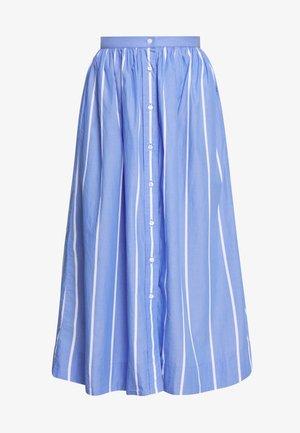 STRIPED SKIRT - Áčková sukně - periwinkle blue