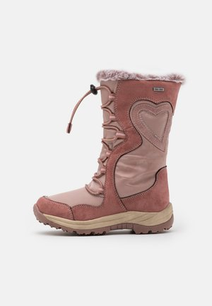 Winter boots - old pink