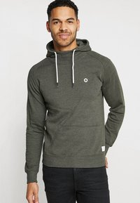 Jack & Jones - JCOPINN HOOD REGULAR FIT - Luvtröja - rosin melange - 0
