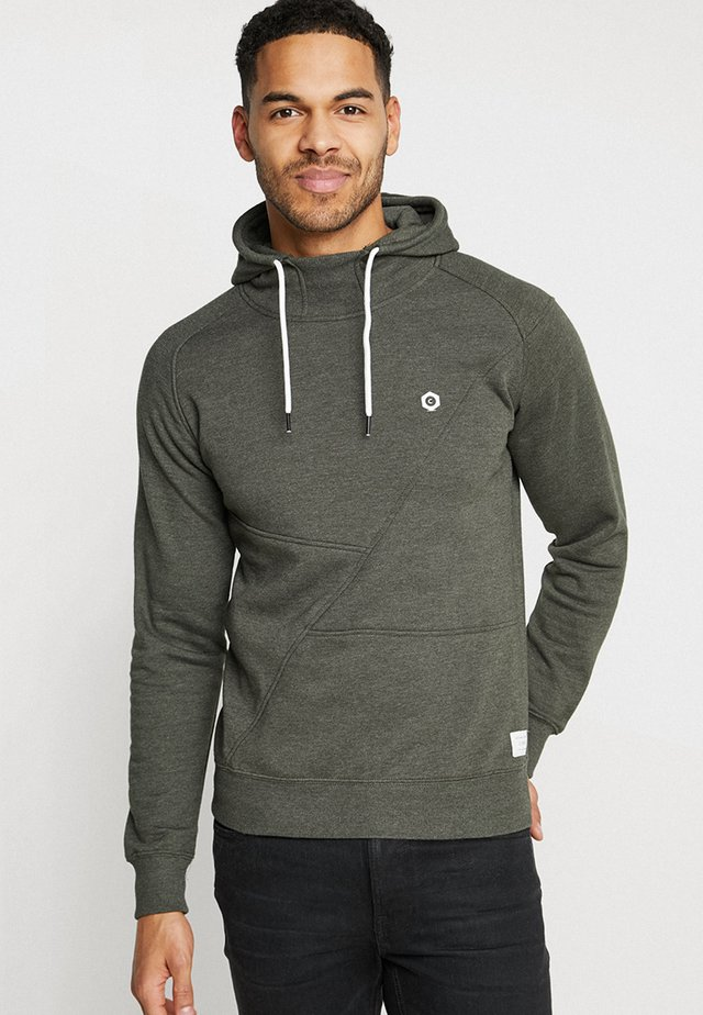 JCOPINN HOOD REGULAR FIT - Sweat à capuche - rosin melange