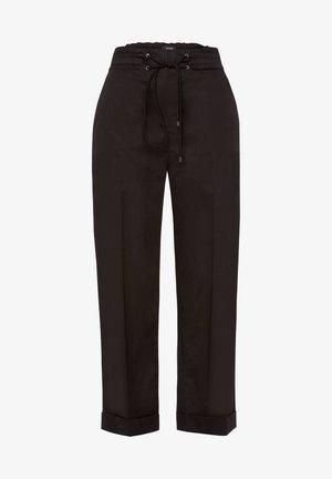 DAMEN HOSE VERKÜRZT - Trousers - black