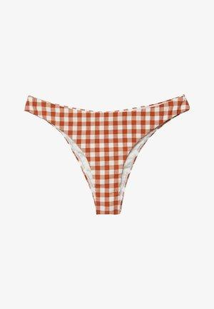 MIRE - Bikini pezzo sotto - roodbruin