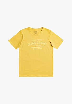 WILDER MILE  - Basic T-shirt - yellow
