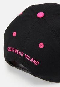 GCDS - BASEBALL UNISEX - Cap - black/neon pink - 4