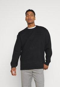 Weekday - NATHAN - Sweatshirt - black - 0