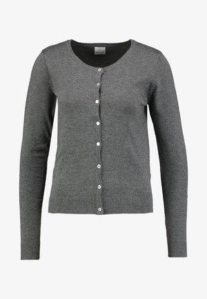 ANNEMARIE CARDIGAN - Cardigan - dark grey melange