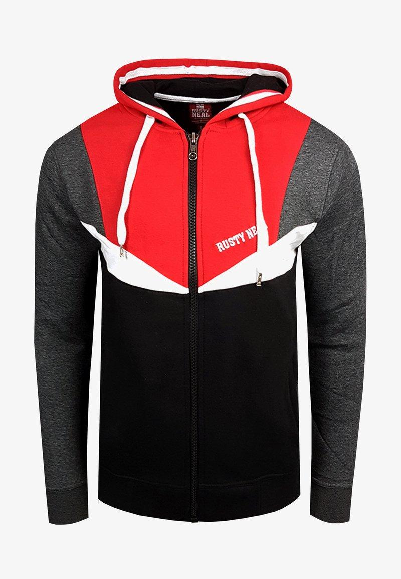Rusty Neal - Zip-up hoodie - rot