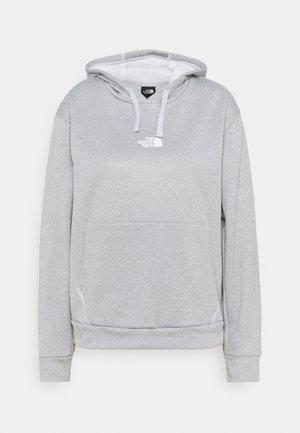 EXPLORATION HOODIE - Sweatshirt - light grey heather/white