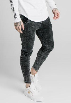 acid wash - Slim fit jeans - black