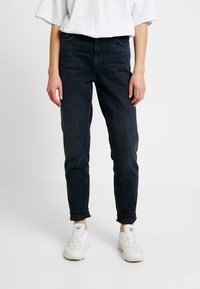 Topshop - MOM - Relaxed fit jeans - blue black - 0