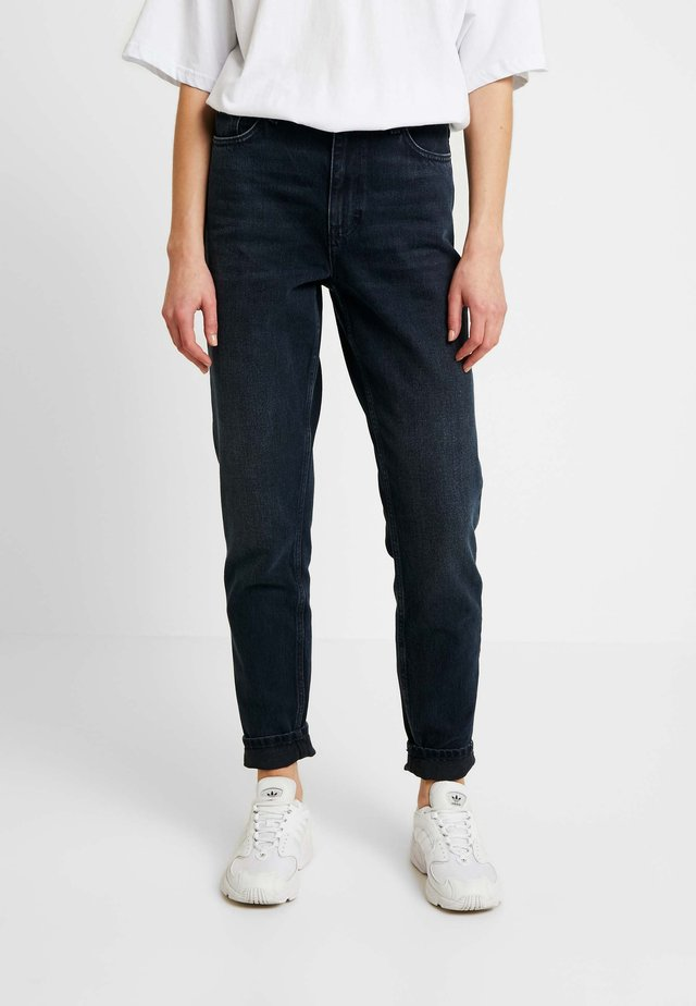 MOM - Jeans Relaxed Fit - blue black