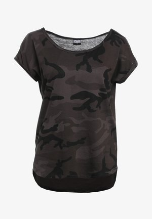 CAMO  - Print T-shirt - dark green