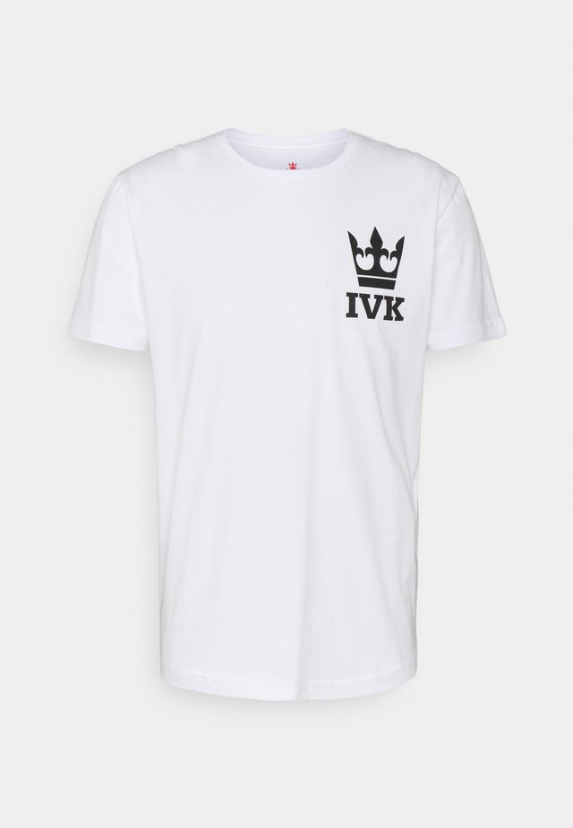 STAMP - T-shirt con stampa - white