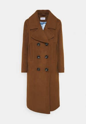 INCLUDE - Classic coat - camel