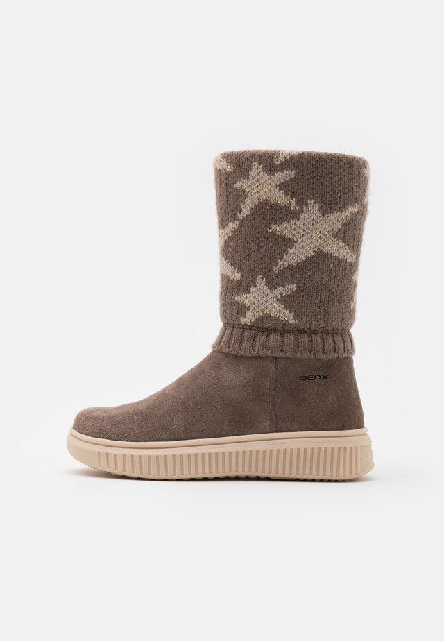 DISCOMIX GIRL - Boots - smoke grey