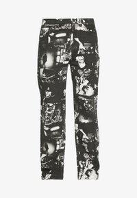 Jaded London - PUNK ROCK PHOTOGRAPH SKATE - Jeans baggy - black - 4