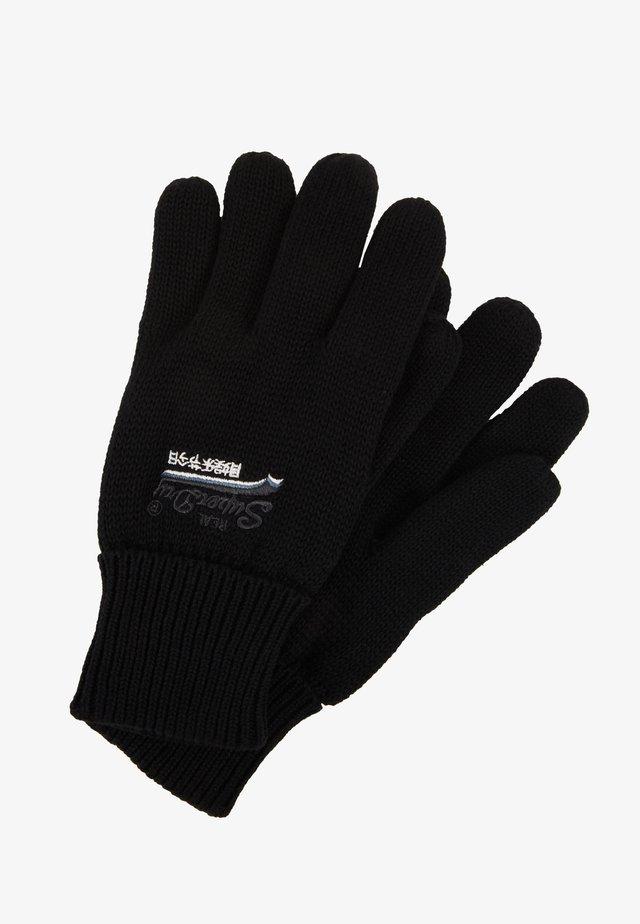 ORANGE LABEL GLOVE - Gloves - black