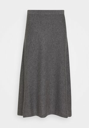 SKIRT - A-line skirt - med grey