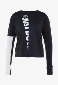 TOP CREW - Funktionsshirt - black/white/silver