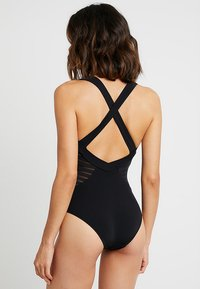 JETS Australia - LOW BACK INFINITY - Swimsuit - black - 2