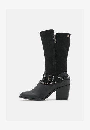 NEW PALAS - Cowboy/Biker boots - black