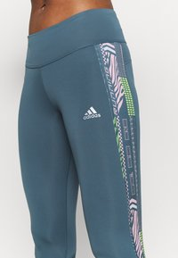 adidas Performance - OWN THE RUN - Tights - legblu/hazcor - 3