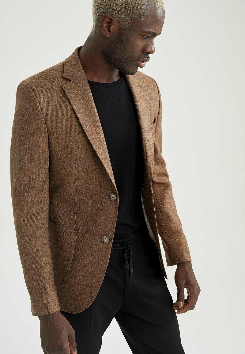 DeFacto - Blazer jacket - brown
