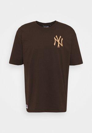 MLB NEW YORK YANKEES OVERSIZED SEASONAL COLOUR  - Club wear - midnight brown