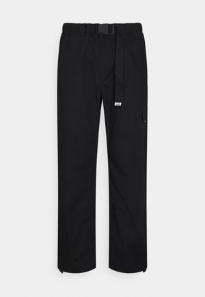 ETHAN MULTIPOCKET TRACK PANT - Cargo trousers - black