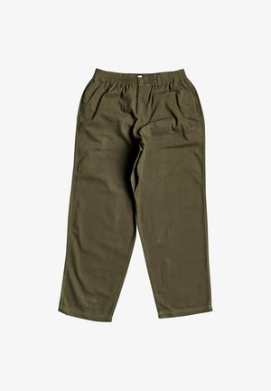 THE MECHANIC - Trousers - fatigue green