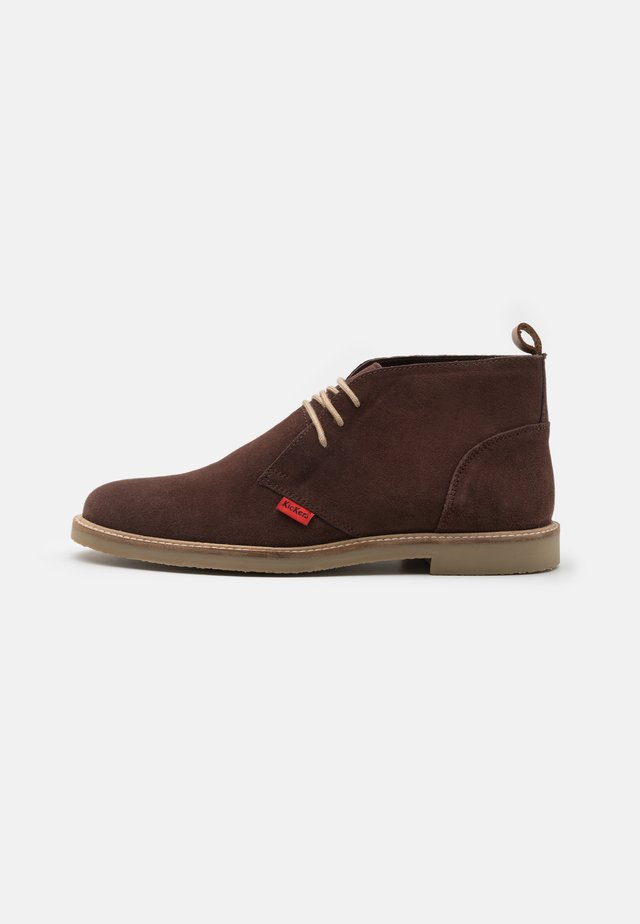 TYL - Lace-up ankle boots - marron