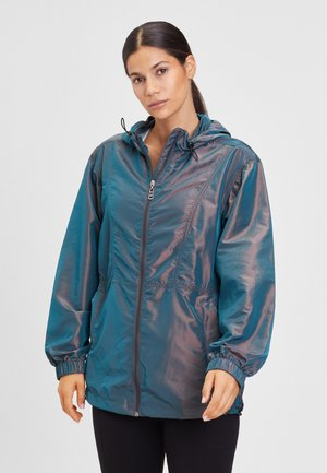 WINDBREAKER - Waterproof jacket - petrol