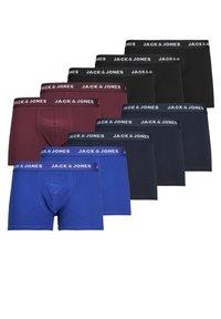 Jack & Jones - BOXERSHORTS 10ER-PACK - Onderbroeken - black - 0