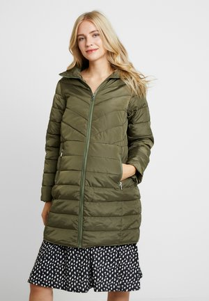 SUSTAINABLE LEAD IN LONG PADDED - Manteau court - khaki