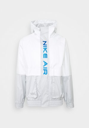 AIR  - Summer jacket - grey fog/summit white/signal blue