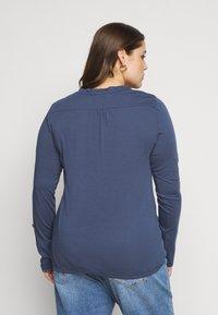 Ragwear Plus - PINCH SOLID PLUS - Top sdlouhým rukávem - blue - 2