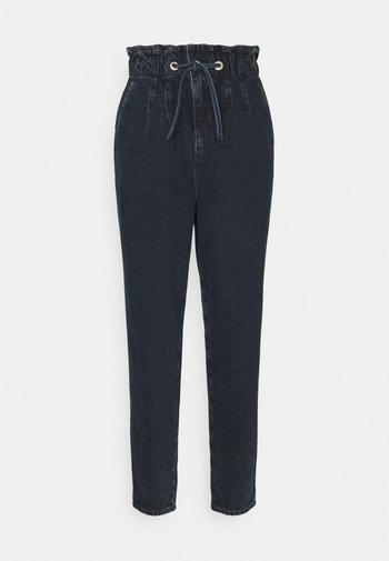 CLAPTON MOM - Relaxed fit jeans - blue black