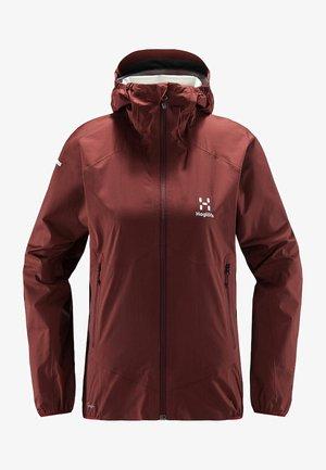 L.I.M PROOF MULTI JACKET - Waterproof jacket - maroon red