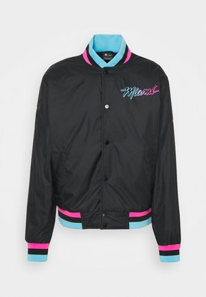 NBA MIAMI HEAT CITY EDITION JACKET - Klubtrøjer - black
