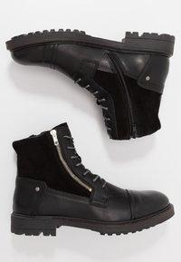 Steve Madden - Šněrovací kotníkové boty - black - 1