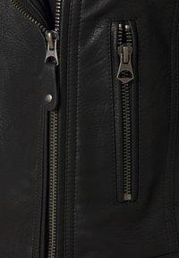 Pepe Jeans - SUSANE - Faux leather jacket - black - 2