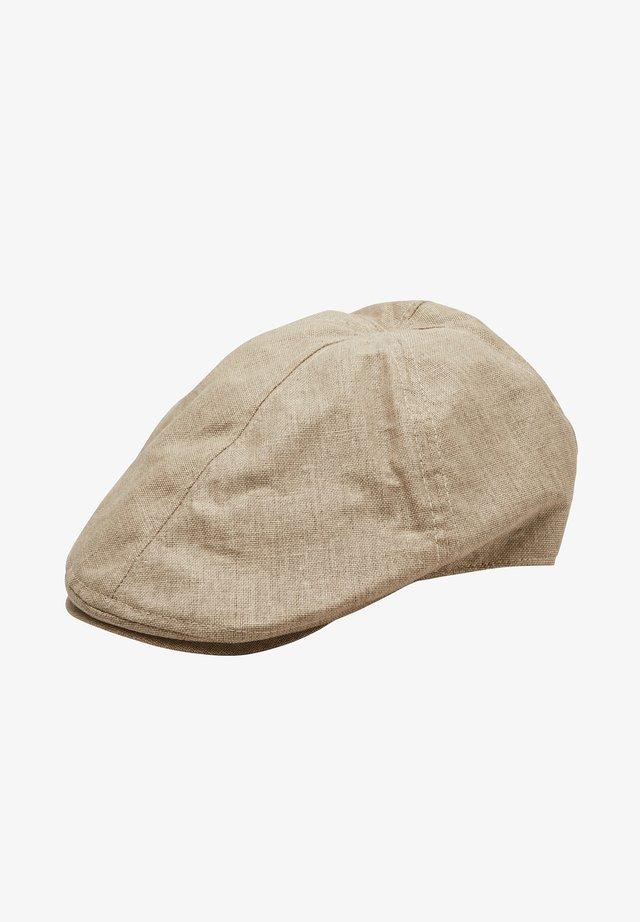 Mütze - beige melange