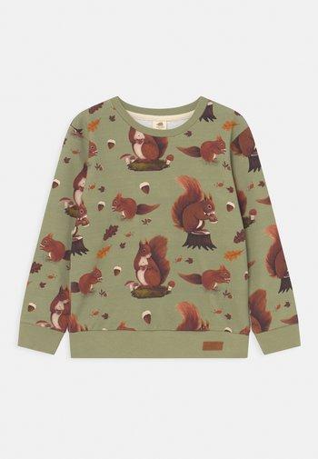 SQUIRREL FAMILY UNISEX - Sweatshirt - green/multi-coloured