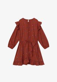 Soft Gallery - Denní šaty - red ochre - 3