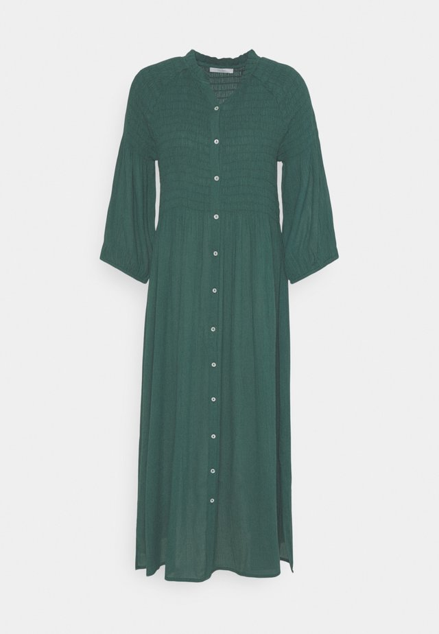 LOULOU DRESS - Shirt dress - bottle green